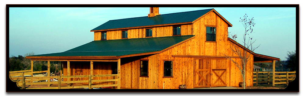 Barns and buildings quality barns and buildings horse for Metal barn images
